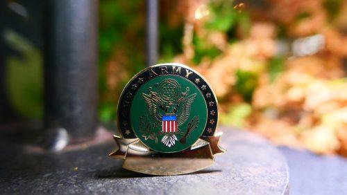 army pin