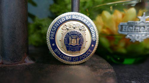 police pin