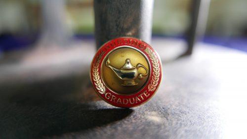 Nursing graduate pin