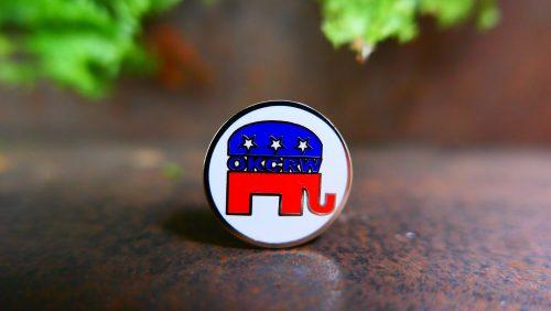Republican pin